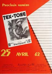 Verso de Tex-Tone -119- Le jour de la marque au double