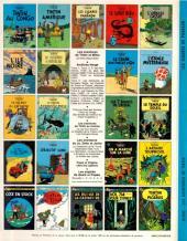 Verso de Tintin (Historique) -4C5- Les cigares du pharaon
