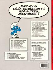 Verso de Les schtroumpfs -1c90- Les Schtroumpfs noirs