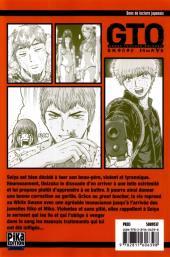Verso de GTO - Shonan 14 days -4- Tome 4
