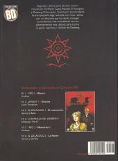Verso de La estrella del desierto - Tome 2