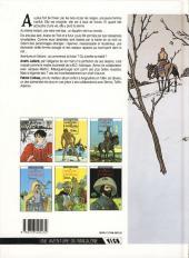 Verso de Les 7 Vies de l'Épervier -1b1991- La blanche morte