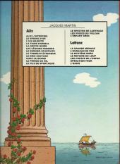 Verso de Alix -1b1980- Alix l'intrépide