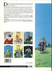 Verso de Les 7 Vies de l'Épervier -4b1991- Hyronimus