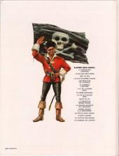 Verso de Barbe-Rouge -2d1984- Le Roi des Sept Mers
