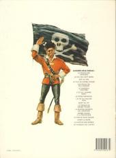 Verso de Barbe-Rouge -7c1986- L'île de l'homme mort