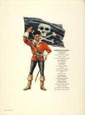 Verso de Barbe-Rouge -8d1984- Le piège espagnol
