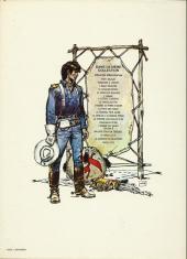 Verso de Blueberry -11b1978- La mine de l'Allemand perdu