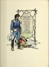 Verso de Blueberry -5a1972- La piste des Navajos