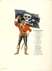 Verso de Barbe-Rouge -12b1984- La mission secrète de l'épervier