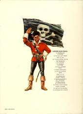 Verso de Barbe-Rouge -14b- Le pirate sans visage