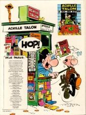 Verso de Achille Talon -6b82- Achille Talon au pouvoir