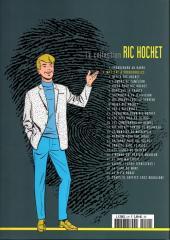 Verso de Ric Hochet - La collection (Hachette) -2- Mystère à Porquerolles