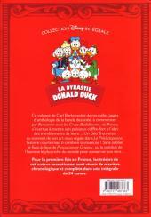 Verso de La dynastie Donald Duck - Intégrale Carl Barks -6- Rencontre avec les Cracs-Badaboums et autres histoires (1955 - 1956)