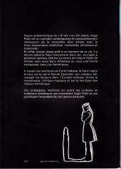 Verso de (AUT) Pratt, Hugo -Cat- Corto Maltese et les secrets de l'initiation