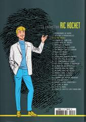 Verso de Ric Hochet - La collection (Hachette) -3- Défi à Ric Hochet