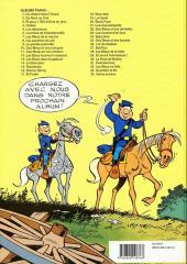 Verso de Les tuniques Bleues -19b93- Le David