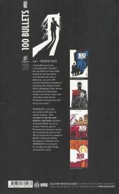 Verso de 100 Bullets (albums cartonnés) -1- Première salve