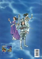 Verso de Les aventures d'Aline -3'- Les Gardiens du Mont Saint-Michel - Version en japonais