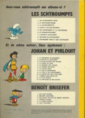 Verso de Johan et Pirlouit -9c1975- La flûte à six schtroumpfs
