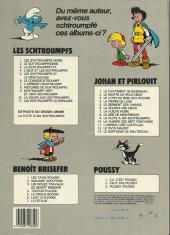 Verso de Johan et Pirlouit -12b1986- Le pays maudit