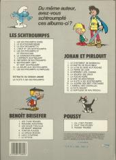 Verso de Johan et Pirlouit -13b85- Le sortilège de maltrochu