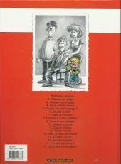 Verso de Cédric -1b2003- Premières classes
