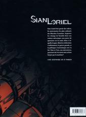 Verso de Sian Loriel -1- Les Marches Carmines