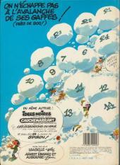 Verso de Gaston -7a1983- Un gaffeur sachant gaffer