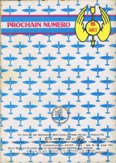 Verso de Battler Britton -191- Les Défiants