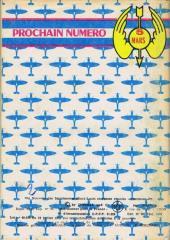 Verso de Battler Britton -383- Contre les avions-robots