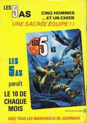 Verso de Battler Britton -435- Commando catapulté