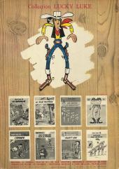 Verso de Lucky Luke -17b69- Sur la piste des Dalton