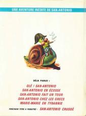 Verso de San-Antonio (Les Aventures du Commissaire) -6- L'histoire de France de Marie-Marie