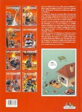 Verso de Les pompiers -1Top- Des gars des eaux