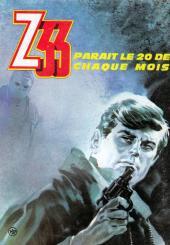 Verso de Z33 agent secret -6- Le mystère du colonel fantôme