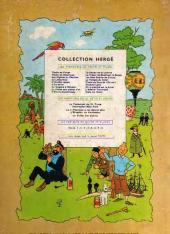 Verso de Tintin (Historique) -17B30- On a marché sur la lune