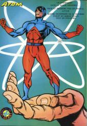 Verso de Les géants des super-héros -2- La Ligue de Justice - Piège pour Firestorm