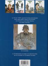 Verso de Airborne 44 -1a2011- Là où tombent les hommes