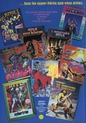 Verso de Les géants des super-héros -3- Hawkman et Batman