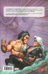 Verso de Wolverine - Black Cat - Coups de griffes