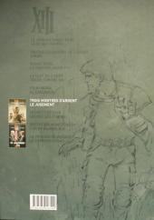 Verso de XIII (Le Soir Belgique) -6- Trois montres d'argent / Le Jugement