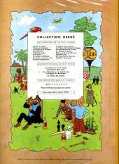 Verso de Tintin (Historique) -13B22bis- Les 7 boules de cristal