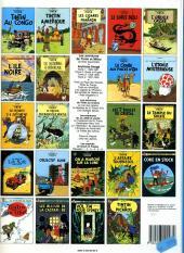 Verso de Tintin (Historique) -4C6Bis- Les cigares du pharaon