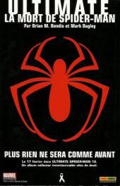 Verso de Spider-Man Universe (Marvel France - 1re Série) -1- Hors de contrôle