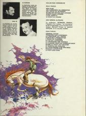 Verso de Comanche -6a1978- Furie rebelle