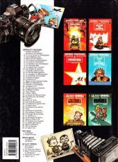 Verso de Spirou et Fantasio -6c1993- La corne de rhinocéros