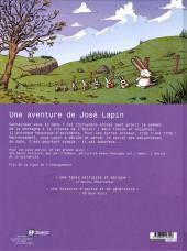 Verso de José Lapin (Une aventure de) -2- La chasse au dahu
