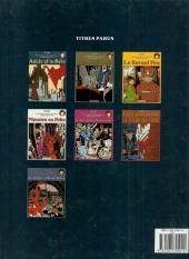 Verso de Adèle Blanc-Sec (Les Aventures Extraordinaires d') -1b87- Adèle et la bête