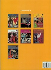 Verso de Adèle Blanc-Sec (Les Aventures Extraordinaires d') -3b85- Le Savant Fou